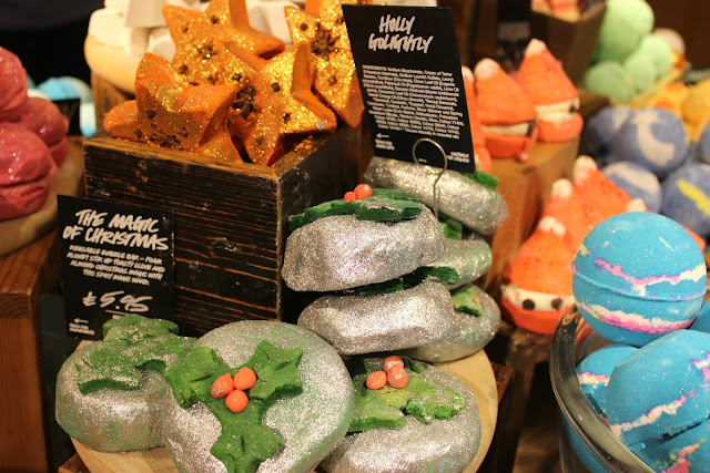 A Lush Holly GoLightly Bubble Bar review