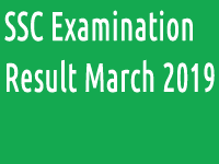ssc examination result march 2019