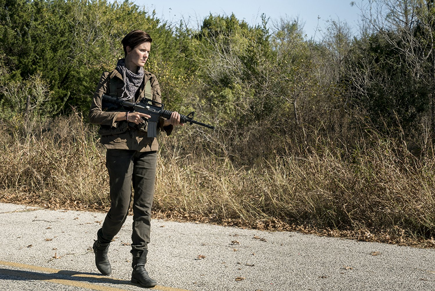 Althea, en el episodio 4x01 de Fear The Walking Dead