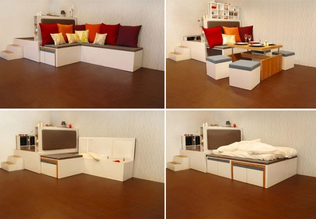 Furniture Interior Design: Modern Design Furniture For Small Spaces
