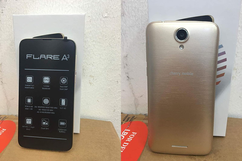 Cherry Mobile Flare A3 With LTE Is Priced At 2999 Pesos!