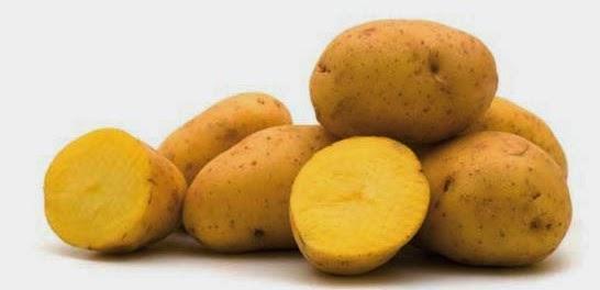 Patata a pasta gialla.