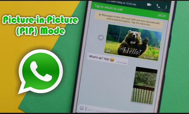 whatsapp akan mengeluarkan fitur terbaru, bisa bikin chattingan sekaligus nonton youtub loh...