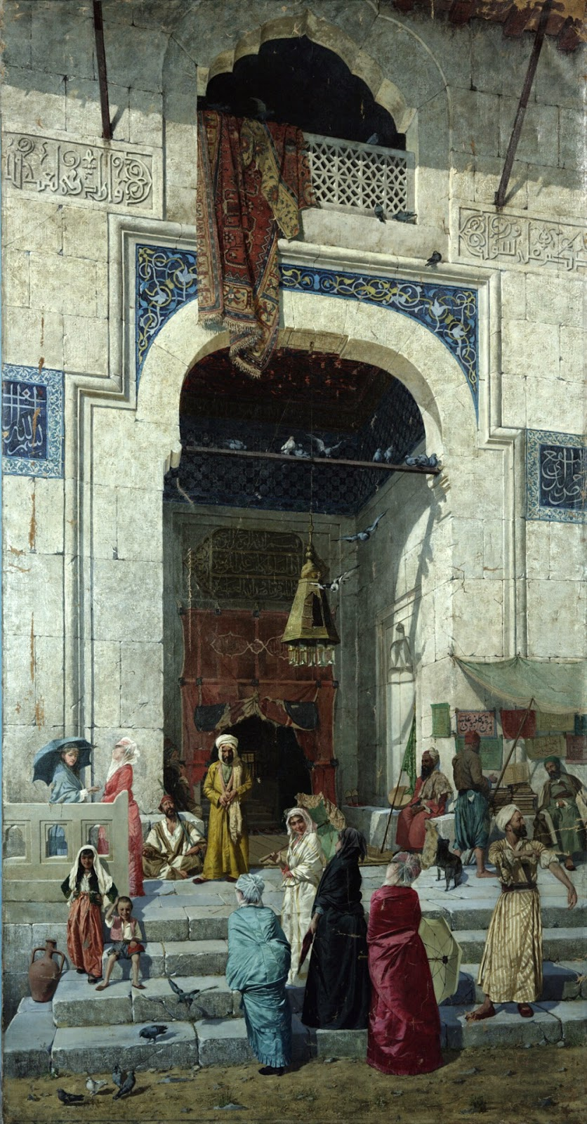 Osman Hamdi Bey - An Ottoman Empire Painter (1842-1910)