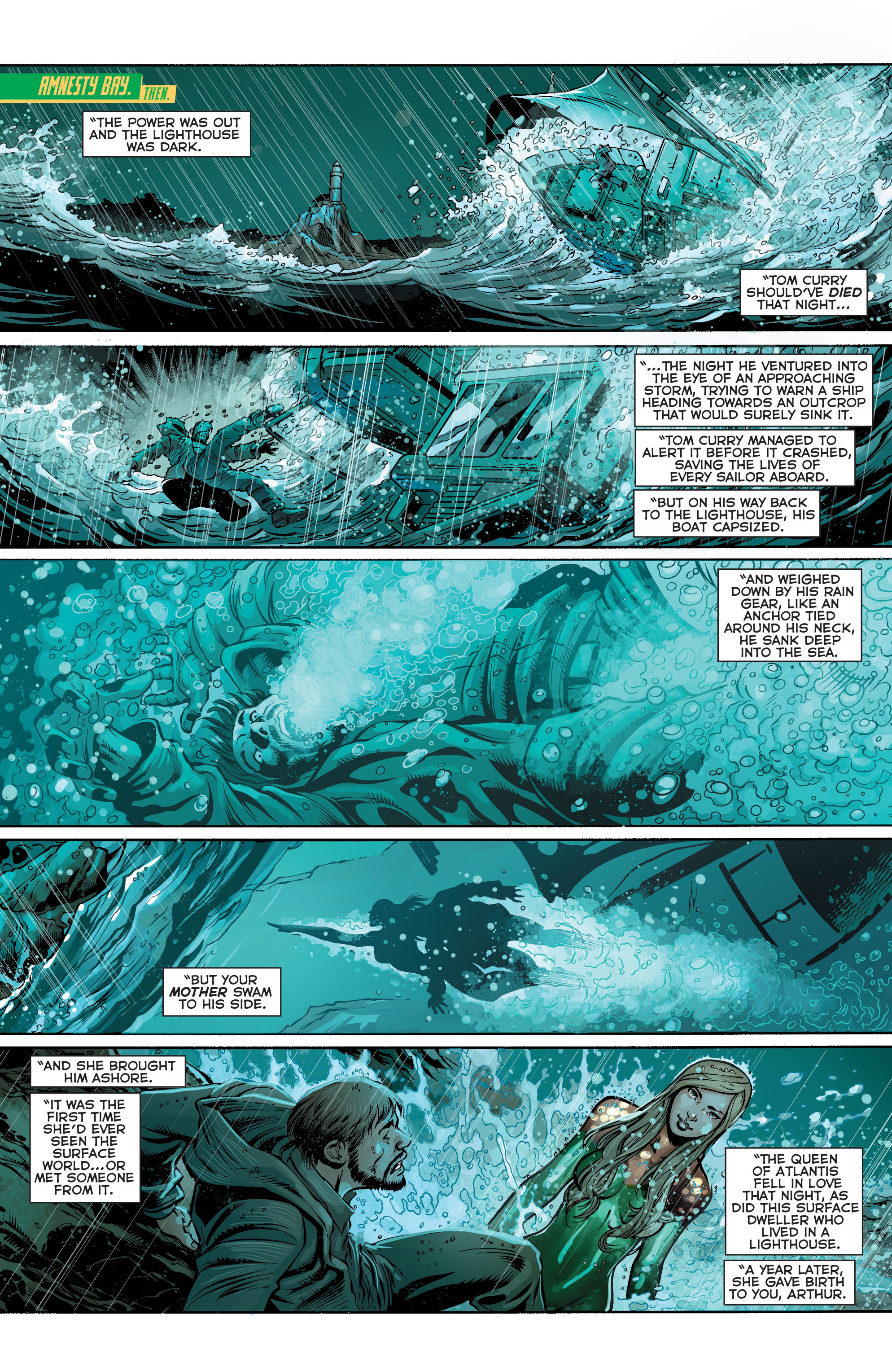 Read online Aquaman (2011) comic -  Issue #24 - 2