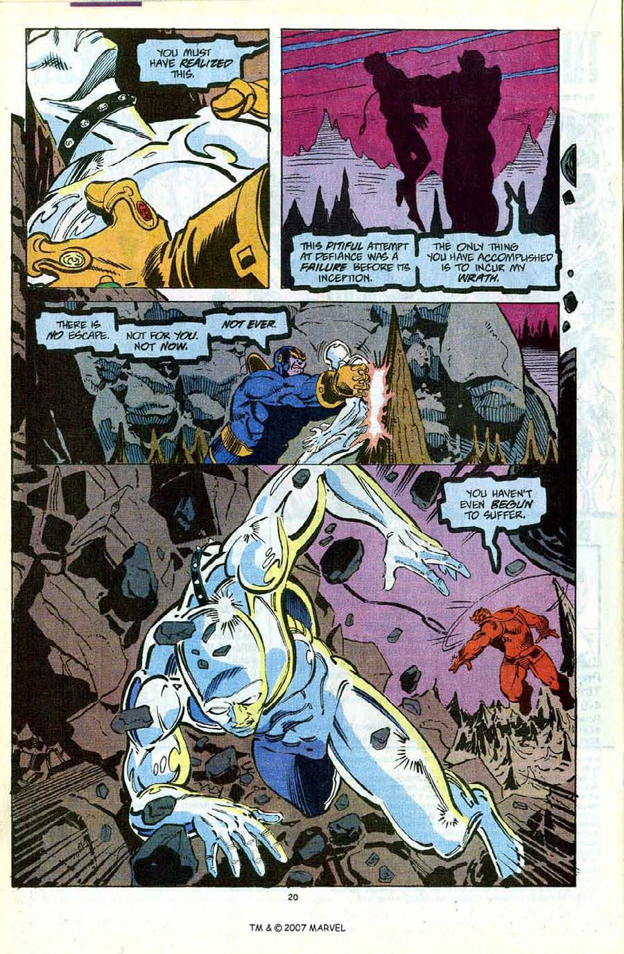 Read online Silver Surfer (1987) comic -  Issue #56 - 22