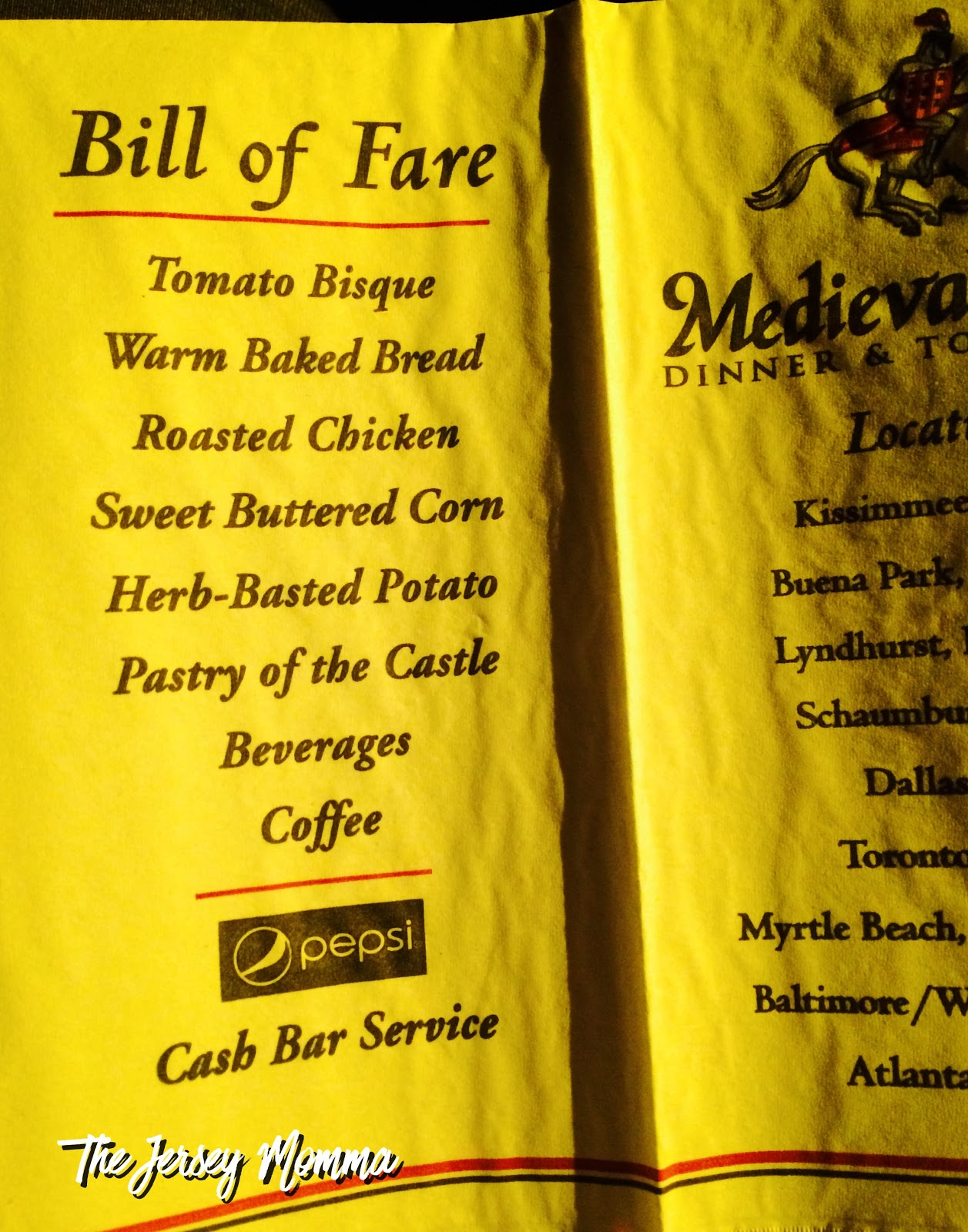 Lets Visit Medieval Times A Jersey Momma Review The Jersey Momma