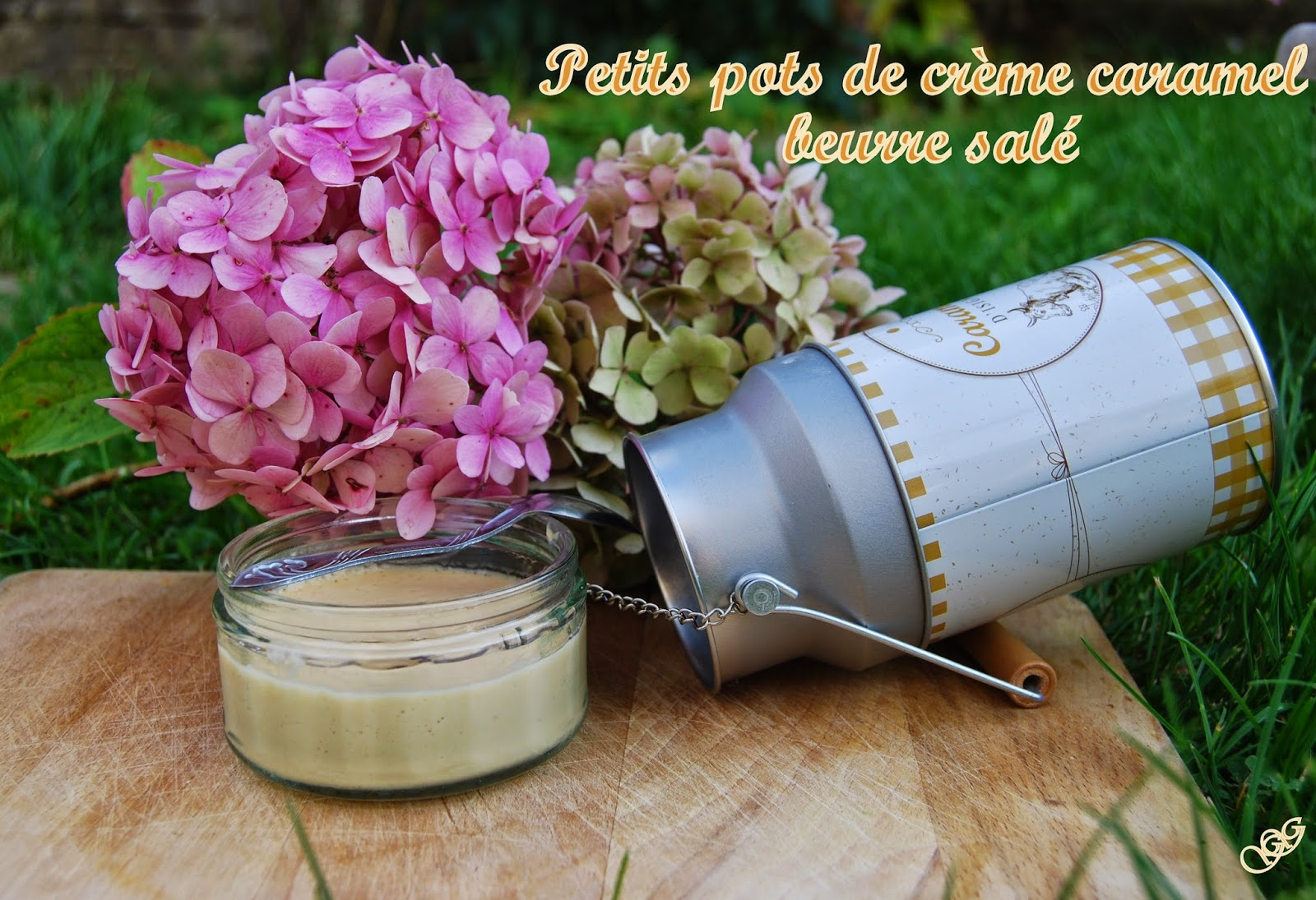 Crèmes Caramel beurre salé