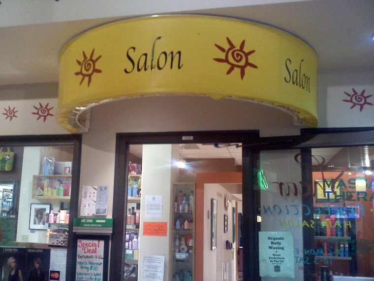 The Outside of the Salon