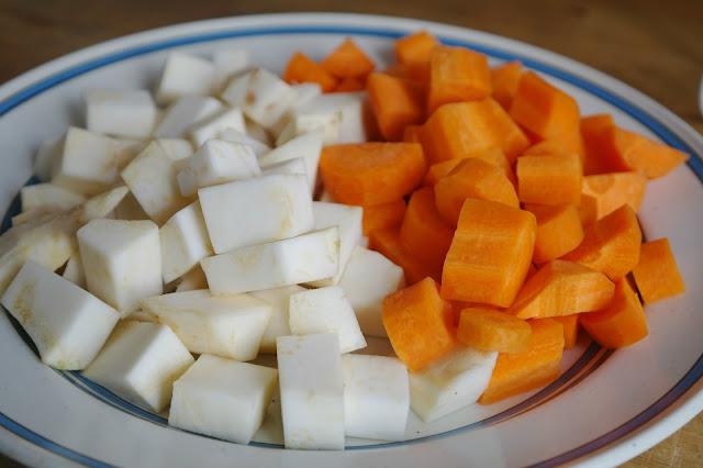 morötter och palsternacka