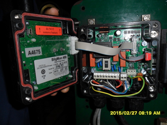 Inside the PPM bilge alarm  device