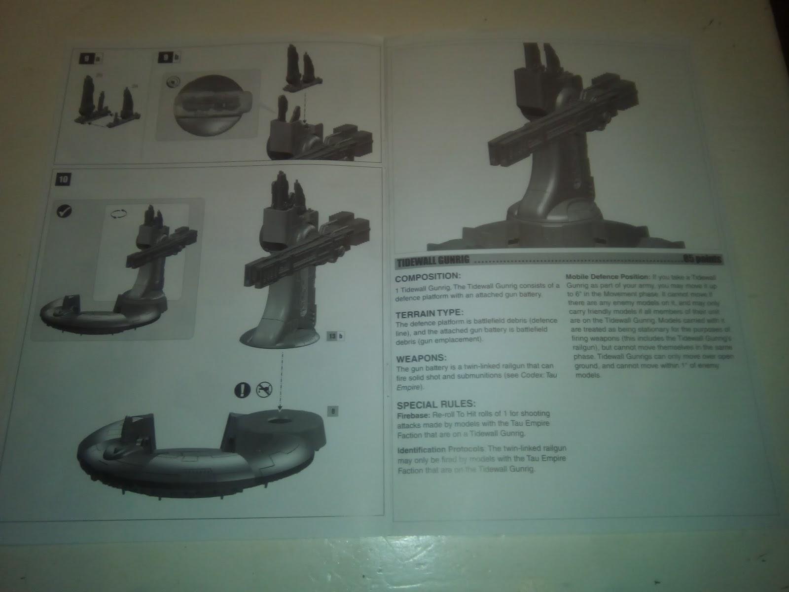 tau broadside assembly instructions
