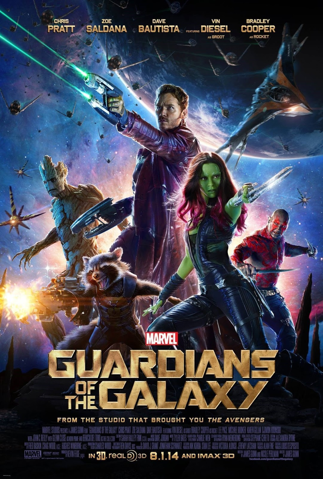 Guardians of the Galaxy 2014 - Full (HD)
