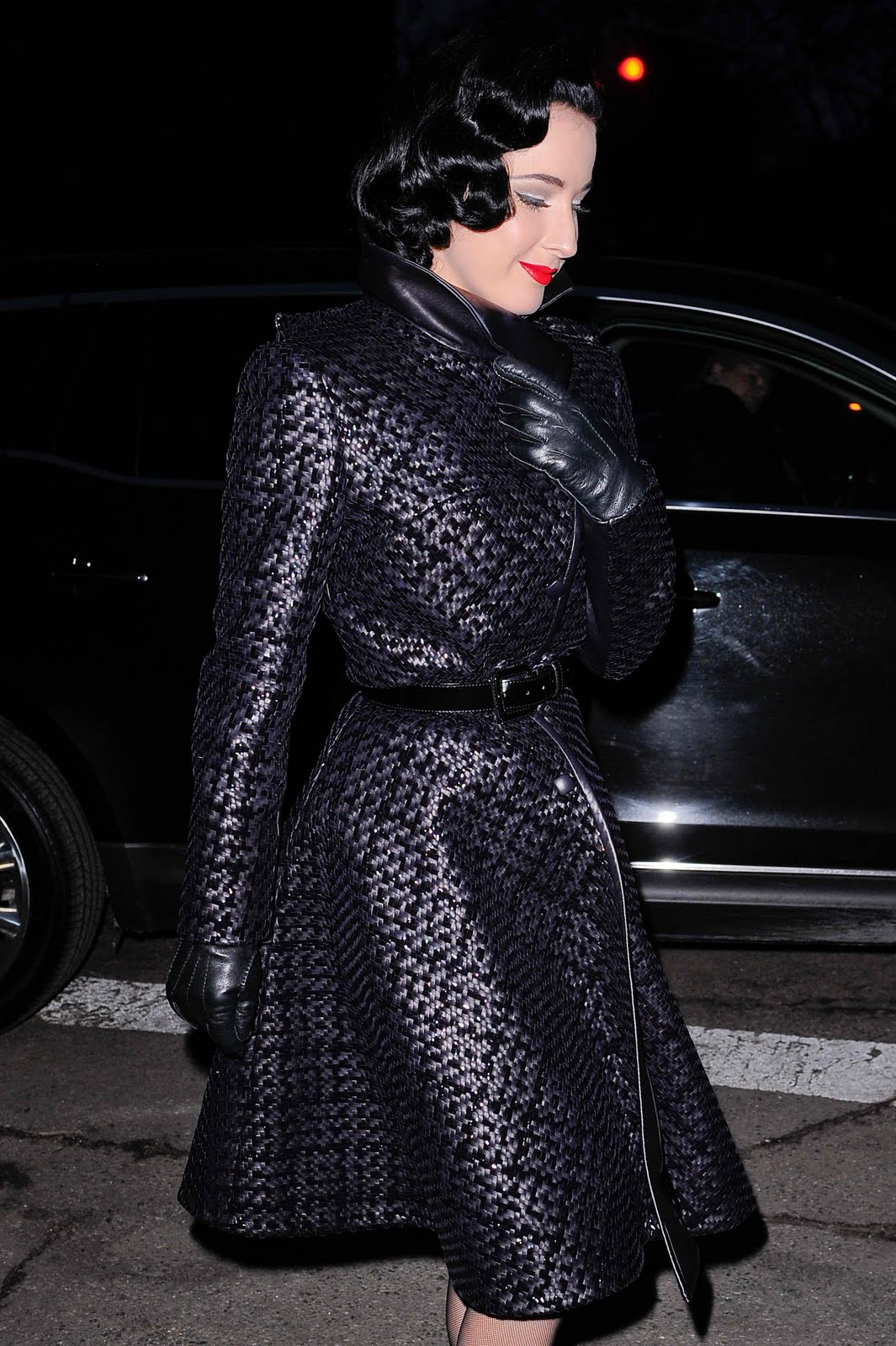 Leather Leather Leather Blog: Dita Von Teese (UHQ) - Red ...