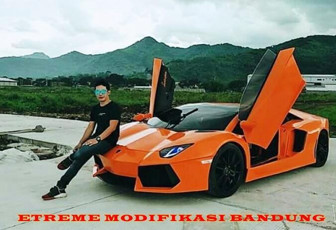 Mobil Lamborghini Buatan Extreme Modifikasi Bandung Hanya 300 Jutaan