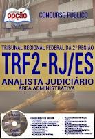 Apostila TRF2 RJ/ES 2016 Analista
