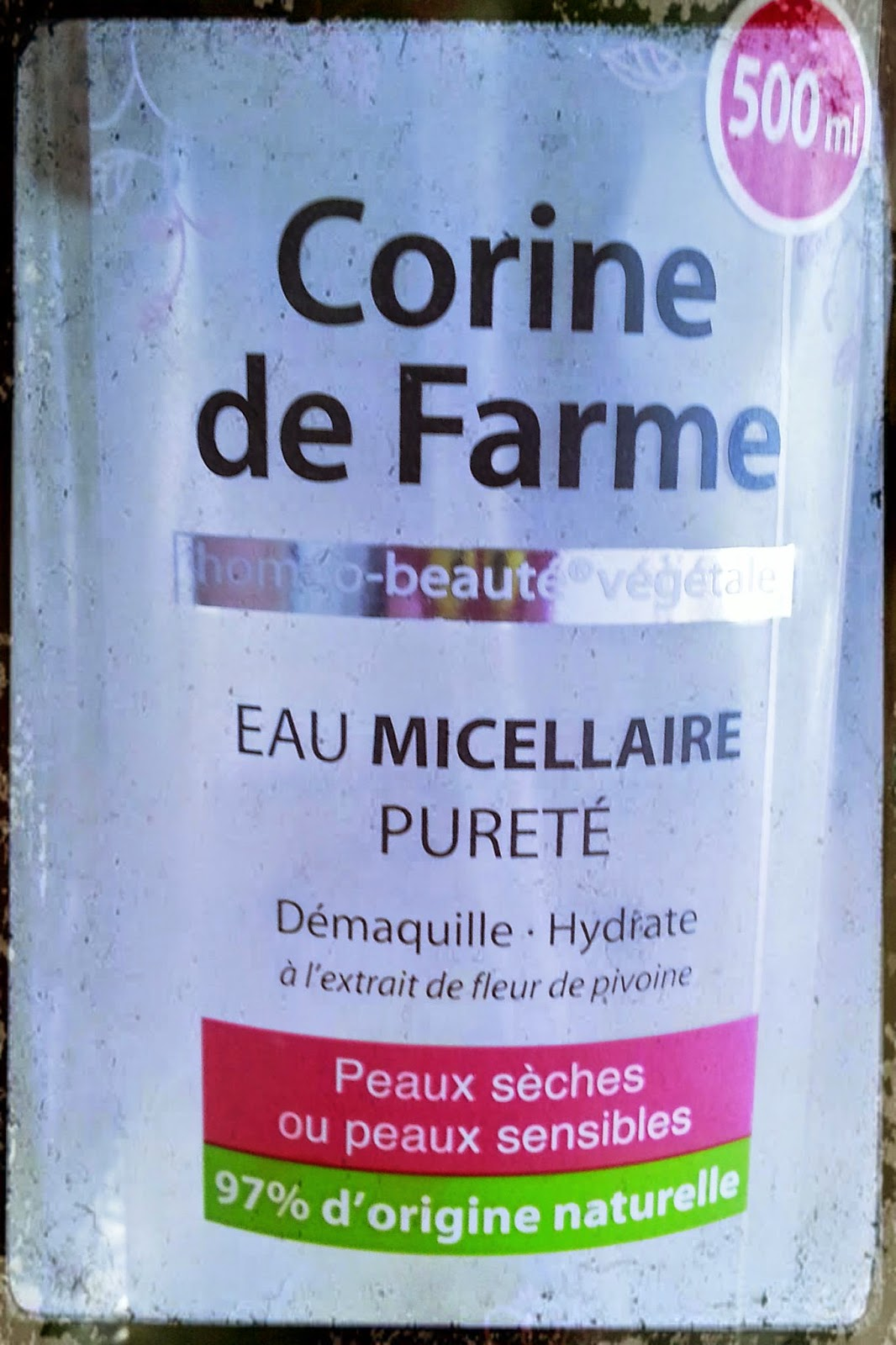 Etiquette, Packaging, 500ml
