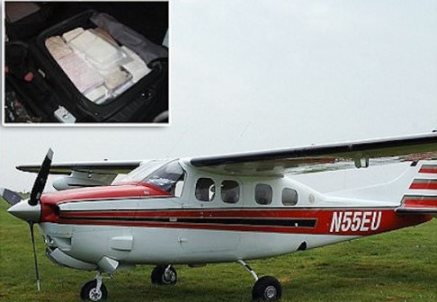 british pilot jailed cocaine smuggling