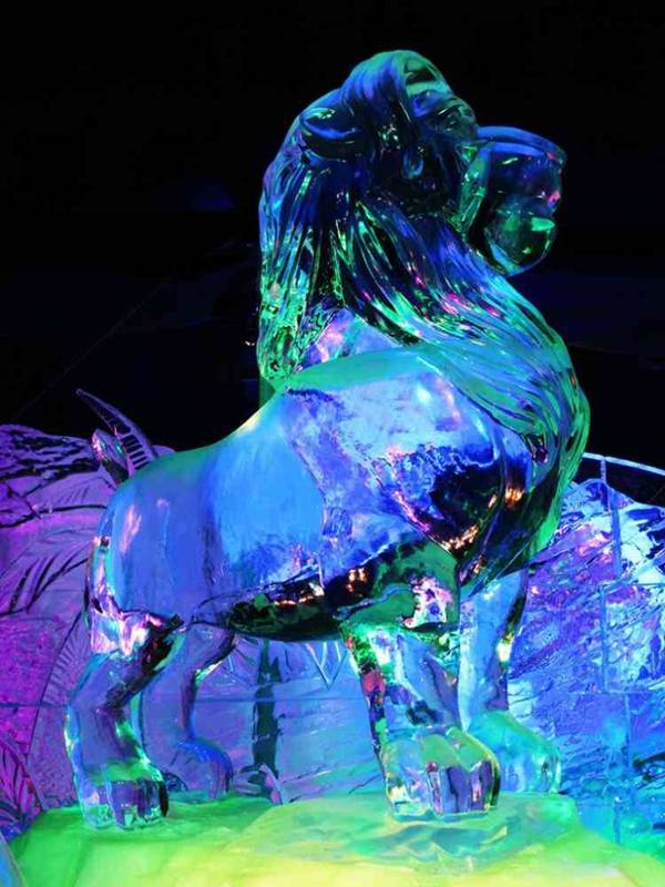 amazing ice sculpture wallpapers - photo #25