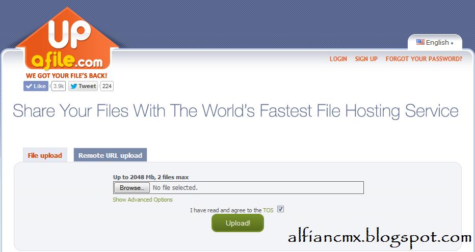 Cara Download di Upafile.com
