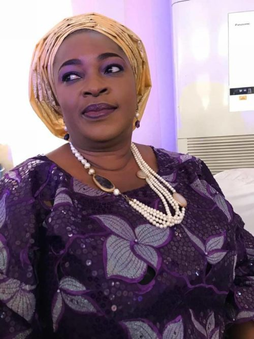Mrs Ebunola Bademosi: was out of the house when her husband was killed by the cook