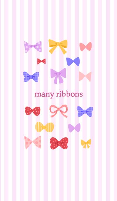 many ribbons