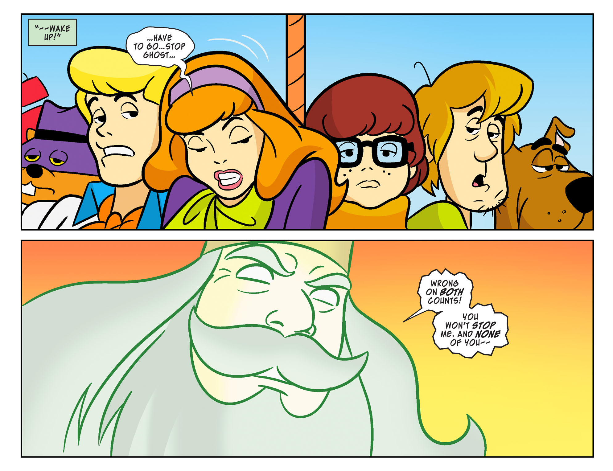Read online Scooby-Doo! Team-Up comic -  Issue #21 - 21