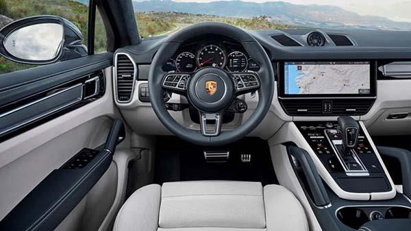 Porsche Cayenne Coupe İç Tasarım