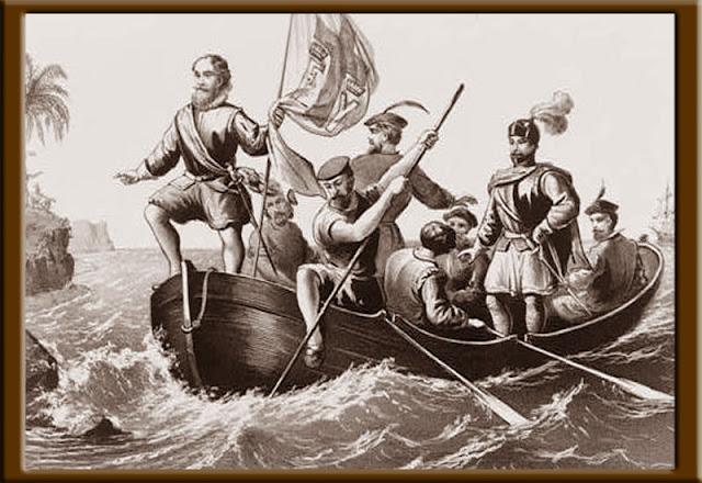 Gambar Kolumbus si Bajak Laut