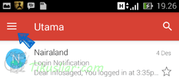 Cara Logout Dari Akun Gmail Android