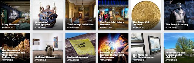 Бесплатные музеи Стокгольма 2016