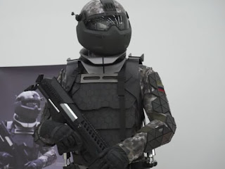 Russia's 'Star Wars' combat suit is reportedly getting a nuclear-resistant Russian Star Wars combat suit
