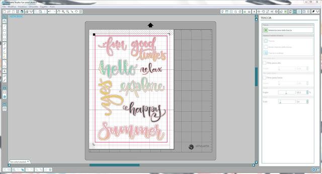 Come utilizzare singoli file .png nella modalità Print & Cut | Silhouette Cameo step15