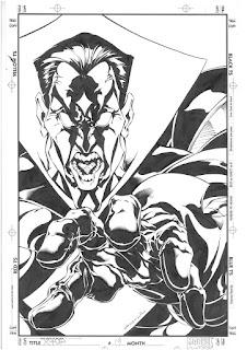 steve skroce, x-man, marvel, spiderman, wachowski, story board, matrix