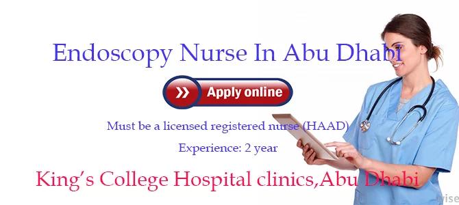 nursing vacancy in uae endoscopy nurse in king u2019s college hospital clinics abu dhabi