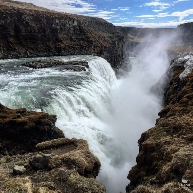 Cascada Gulfoss Islandia