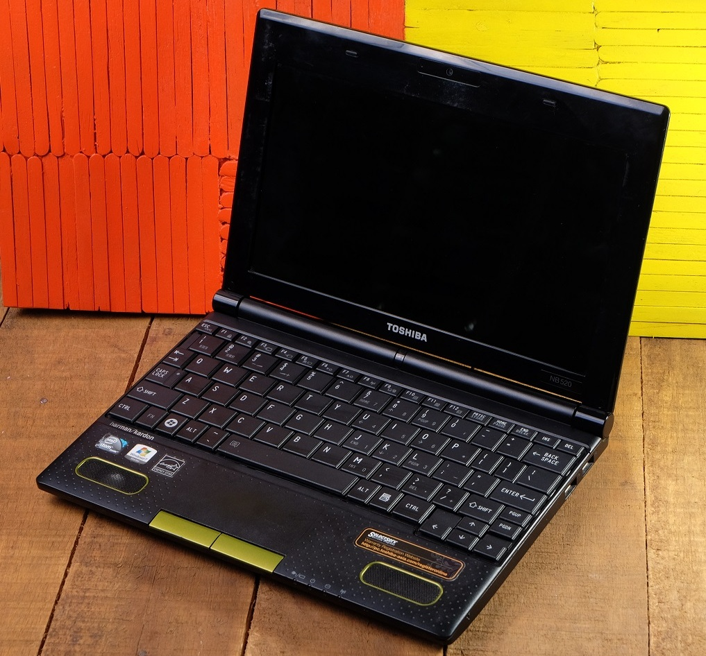 Jual Toshiba NB520 Netbook 2nd