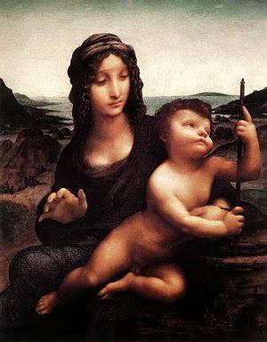 Madonna com o Yarnwinder - Leonardo Da Vinci | O maior artista de todos os tempos