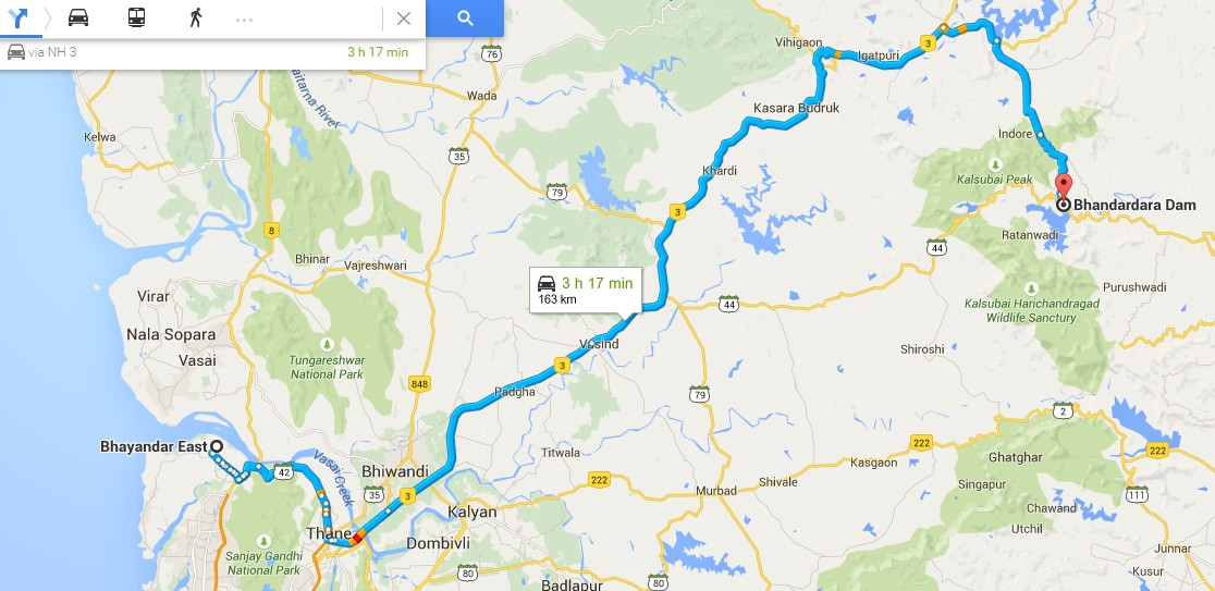 solo bike ride to bhandardara hill station day 1