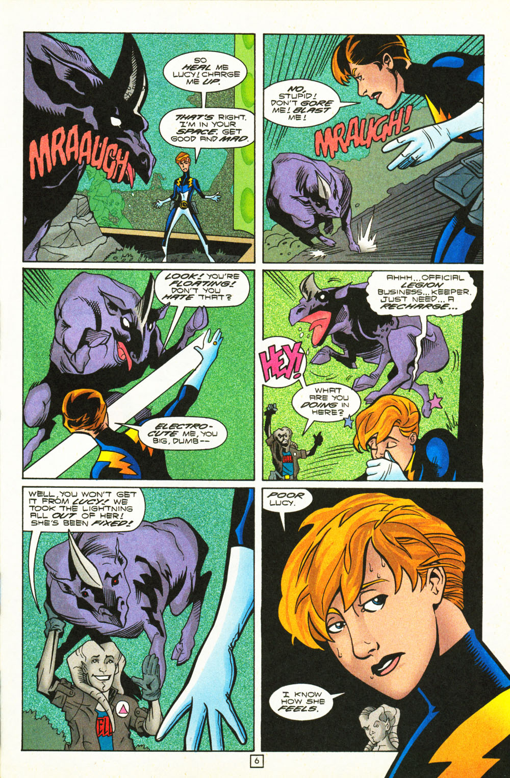 Legion of Super-Heroes (1989) 101 Page 6