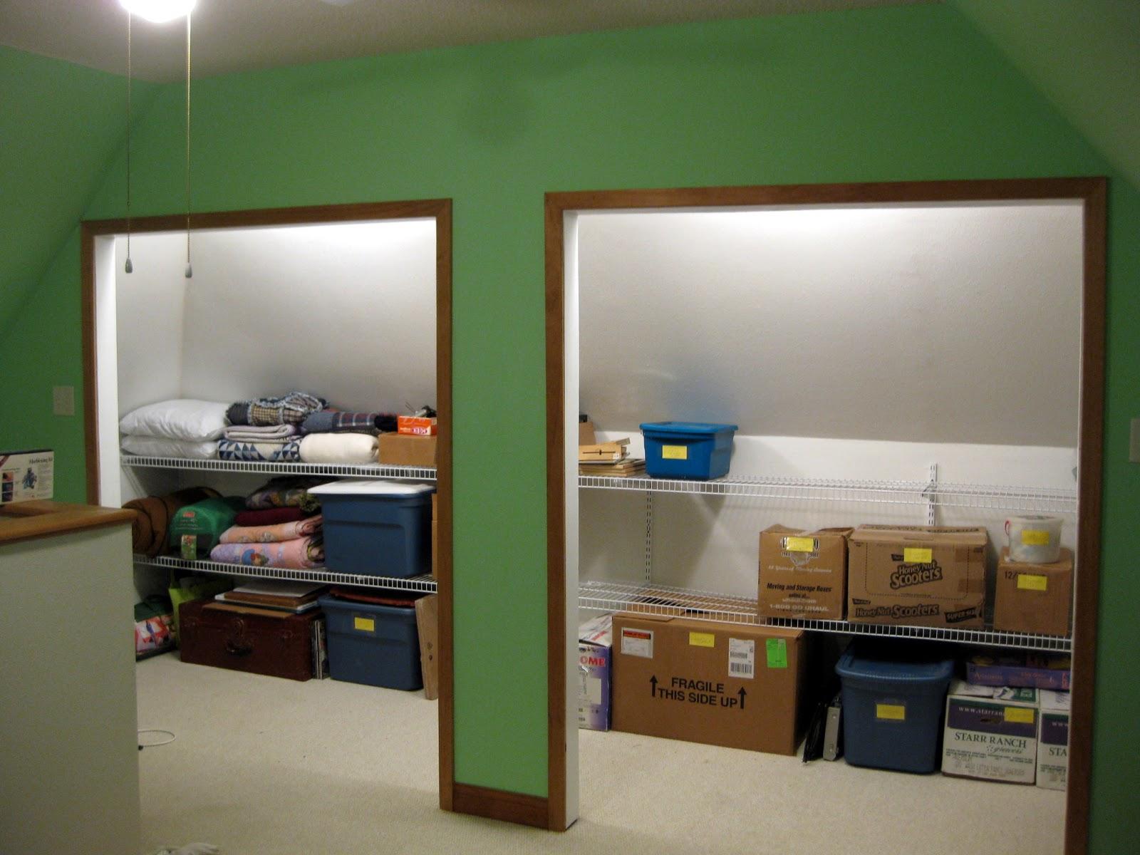 Attic Closet Rescue