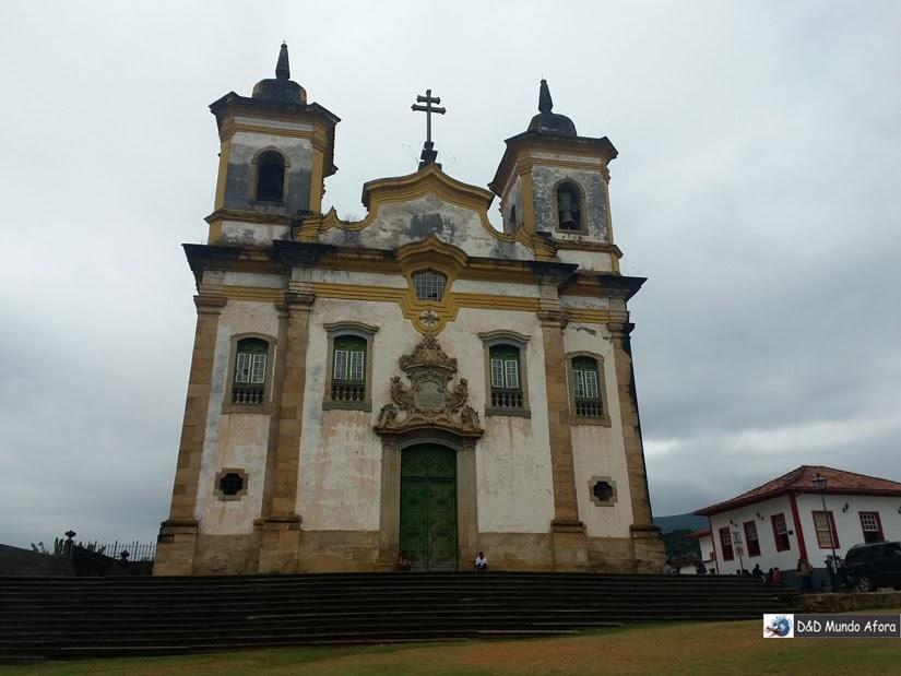 Igreja de São Francisco de Assis -o que fazer em Mariana, Minas Gerais