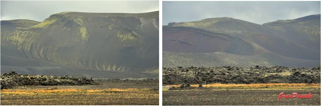Volcán Hekla visto desde el recorrido de Hella a Landmannalaugar