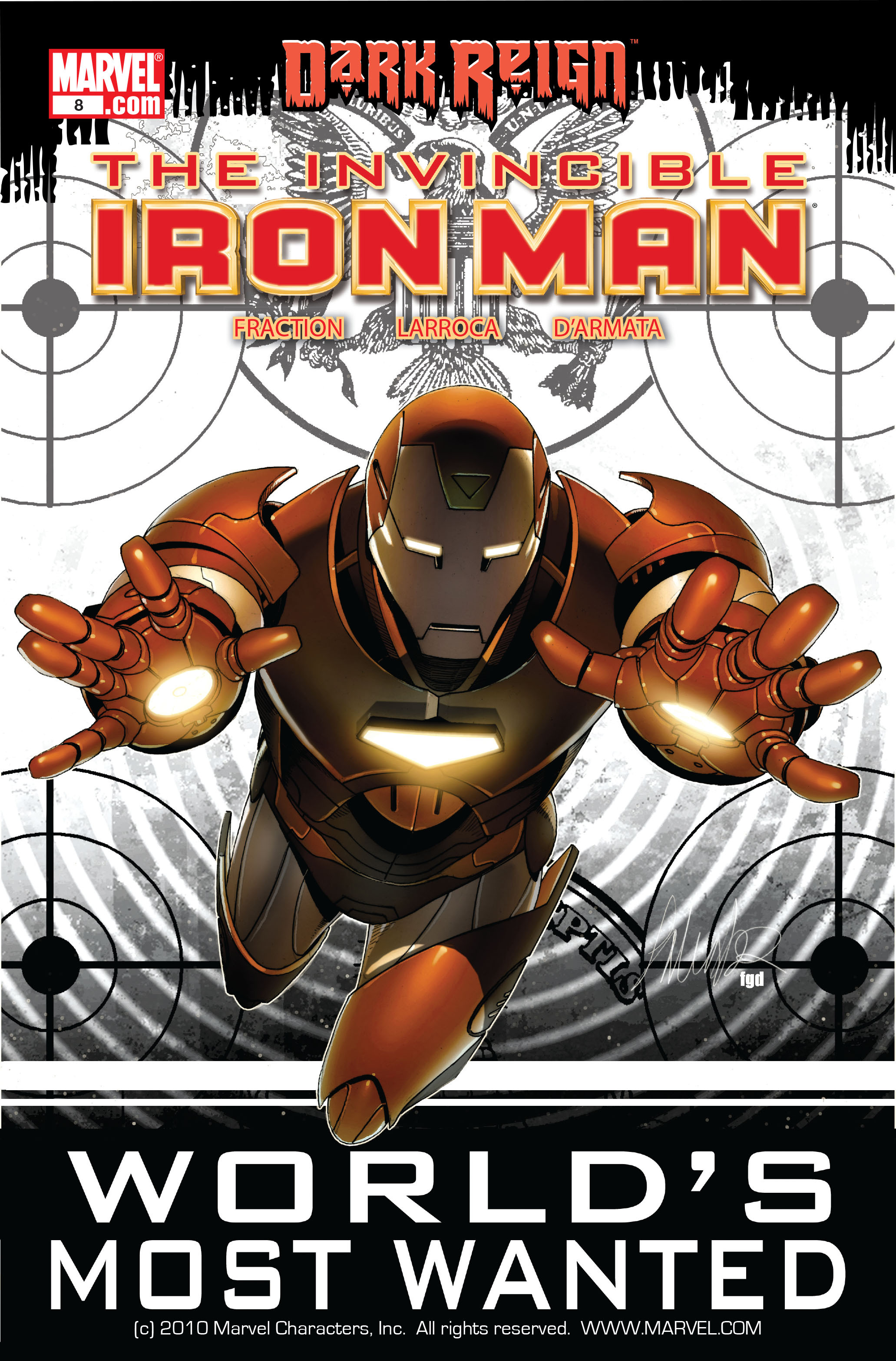 Invincible Iron Man (2008) 8 Page 1