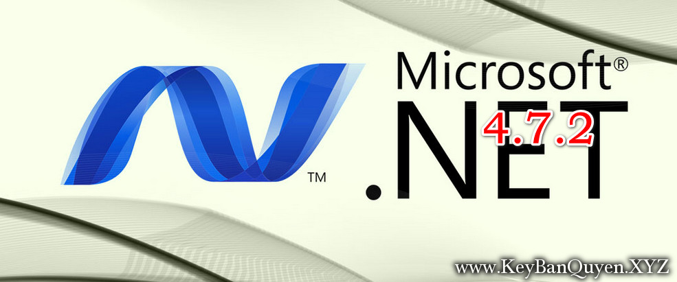 Bộ cài đặt Microsoft .NET Framework 4.7.2 Offline