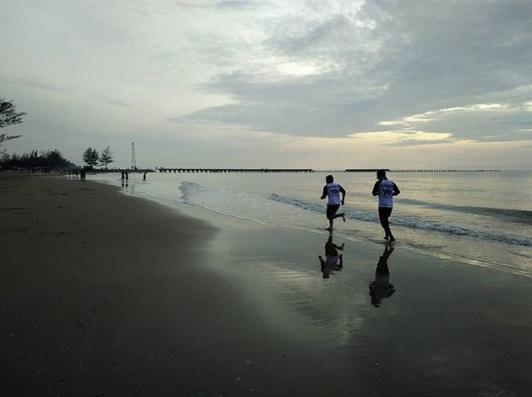 pantai joras wisata banjarmasin