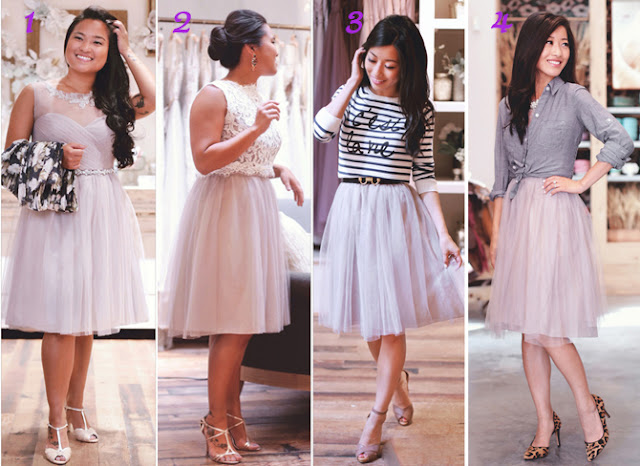 A dress, 4 ways to wear