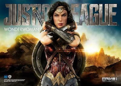 Wonder Woman della Prime 1 Studio per la linea Museum Masterline