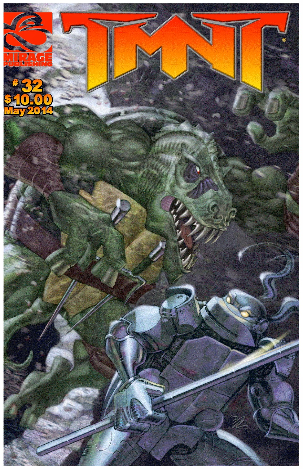 Peter Lairds TMNT blog May 2014
