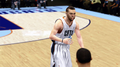 NBA 2K13 Josh McRoberts Cyberface 2K Patch